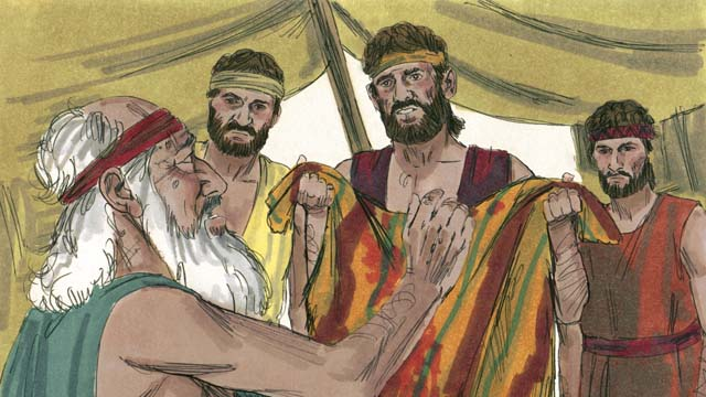 Before Josephs Brothers Returned Home They Tore Robe And Dipped It In Goats Blood Then Showed The To Their Father So He Would Think