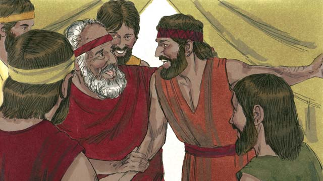When Josephs Brothers Returned Home And Told Their Father Jacob That Joseph Was Still Alive He Very Happy